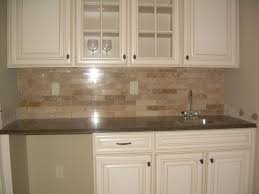 Nice Decorative Tile Kitchen Backsplash Featuring White Wooden New Kitchen Backsplash With Granite Countertops Decoration