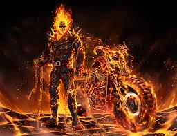 2560x1440 Coolest Ghost Rider 2020 Art ...