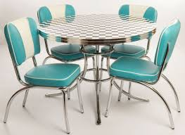 diner style table and chairs uk. furniture, retro american diner style furniture four person chair cyan and white color: best 11 inspiration table chairs uk d