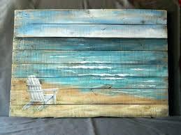 beach themed metal wall art theme decor wood pallet on beach themed outdoor wall art with beach themed wall decor nana s workshop yasaman ramezani