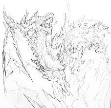 厚塗り風ファンタジーなドラゴンイラストのメイキング紹介 Parudev
