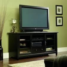edge water large tv stand estate black finish sauder httpwwwamazon amazoncom stein world furniture anna apothecary