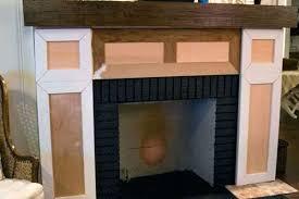 building fireplace mantels build designs diy mantel surround plans