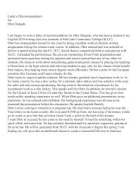 letter of recommendation on resume cipanewsletter letter of recommendation resume college 20ah page 1 write a in