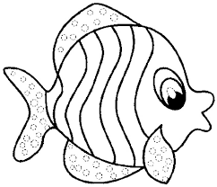 Small Picture Fish Color Page How To Colour Fish Children Coloring Coloring