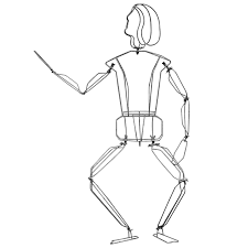 1930\'s wire mannequin at 1stdibs