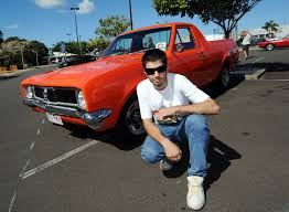OLD SCHOOL: Byron Holt with his HT Holden ute at ... | Buy Photos Online |  Daily Examiner