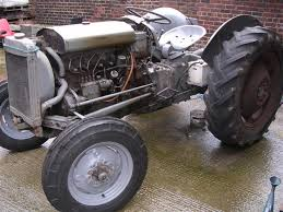 restoring an old ferguson tractor diesel te f  the tap on the bottom of the radiator was jammed closed so i took the bonnet off and unscrewed the tap which also has no lever this is the first time i ve