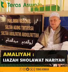 Bantahan dari ilmu sharaf dan nahwu dasar. Ijazah Sholawat Nariyah Kh M Thobary Syadzily