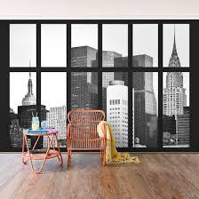 New York Fototapete Fototapete Tapete New York Brooklyn Bridge B W