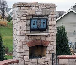 where can i place my outdoor tv living