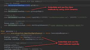 page object model with java generics