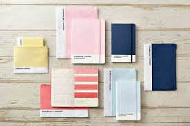 starbucks and pantone collaborate on a line of planners