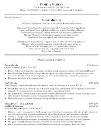 Graduate Nurse Resume Samples Experienced Nursing Resume Samples New