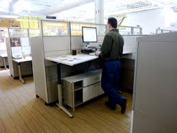 office desk standing. For One Thing, Standing Desks Mean That Less Space Is Necessary Per Employee. When Workers Opt Desks, They Reduce The Floor Required To Office Desk T