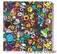 Bape Pattern Adorable BAPEINFO Bape Gallery