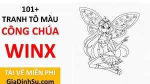 [MIỄN PHÍ] sách 101+ tranh tô màu công chúa Winx cho bé - Công chúa Phép  thuật - tại Giadinhsu.com - YouTube