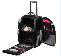 customize high quality hairdressing carrying tool box nylon cosmetic box design for makeup case