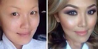 anese makeup before and after