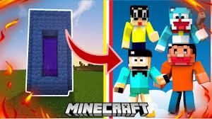 Minecraft Cánh Cổng Dẫn Đến Thế Giới Doremon Và Nobita - YouTube