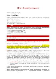 Droit Constitutionnel Unicaen Studocu