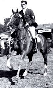 Golden Age of Show Jumping - A very young Harvey Smith riding O'Malley. I  received this wonderful photograph of Harvey Smith on the great O'Malley  which in those days was owned by