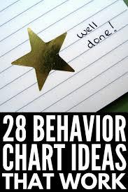 Good Behavior Charts 28 Reward System Tips And Templates