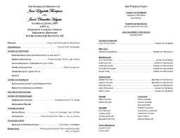 program template for wedding new wedding program templates best of creative wedding programs