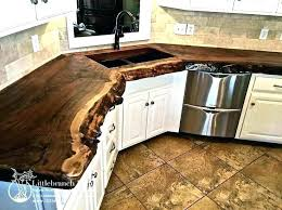 finishing wood countertops finish refinishing ikea wood countertops