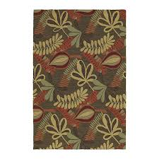 style selections home and porch coffee indoor outdoor handcrafted nature throw rug common