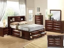 bedroom storage furniture and home emily storage espresso bedroom set