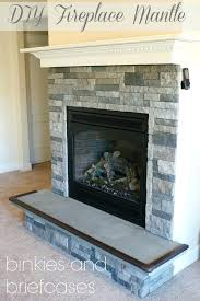 how to build a fireplace surround build your own fire place mantle with 5 boards installing stacked stone fireplace surround