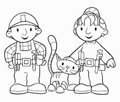 Small Picture Bob The Builder Coloring Pages Printable Google Coloring