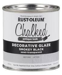 Decorative Glaze Rustoleum Chalked Decorative Glaze