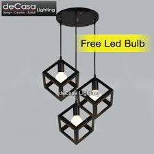 kitchen ceiling spot lighting. Scandinavian Loft Lamps Lighting Home Led Steel Deco Dinner Lights Spot Art Room Kitchen Id Ceiling I
