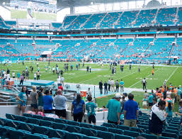 Miami Dolphins Hard Rock Stadium Seating Chart Hard Rock Stadium Section 144 Seat Views Seatgeek
