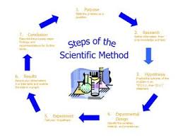 Scientific Method Flow Chart Poster