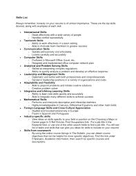What Skills Should I Put On My Resume Fascinating Things To Put On Your Resume Noxdefense