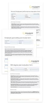Sample Performance Evaluation Employee Evaluation Forms Resources 16