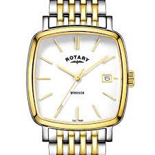 rotary men s two tone windsor cushion watch gb05306 01 rotary rotary men s two tone windsor cushion watch gb05306 01