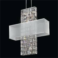 rectangular shade chandelier crystal restoration hardware r