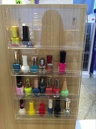 wall mounted makeup organizer. wall mounted makeup organizer display acrylic nail polish stand cosmetics rack - buy display,acrylic