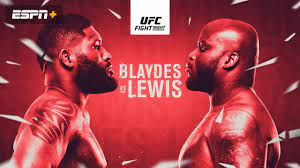 The entire card will be on espn+, with the main card available in english and spanish, starting at 8. Ufc Fight Night Presented By U S Army Blaydes Vs Lewis Main Card Watch Espn