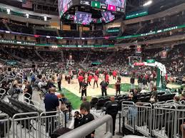 Fiserv Forum Seating Chart Milwaukee Bucks Fiserv Forum Section 114 Milwaukee Bucks Rateyourseats Com
