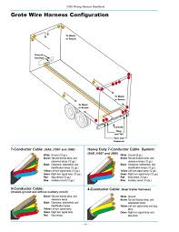 grote 7 pin trailer wiring grote image wiring diagram grote wire harnesses grote auto wiring diagram schematic on grote 7 pin trailer wiring