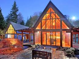 mountain modern house plans mountain cabin house plans chalet small home vacation log slope modern cabins