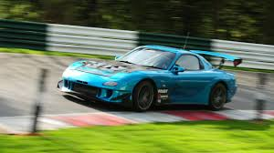 ROTEC Engineering 1999 Mazda Rx7 FD3S at Cadwell Park race track ...