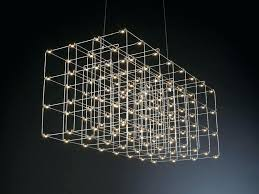 artika cosmos chandelier led metal pendant lamp cosmos square by quasar chandelier artika cosmos led crystal