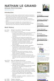 Design Consultant Resume Samples Visualcv Resume Samples Database