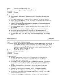 59 Recent Informatica Etl Developer Sample Resume Template Free